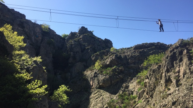 Via-ferrata <span>de Villefort</span>